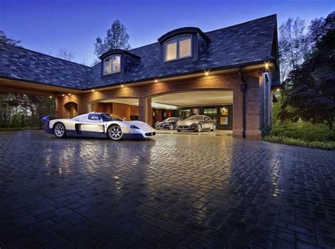 Luxury Car Garage Design Luxury Garage Car Collection Unique Architecture