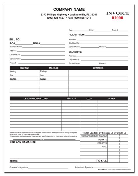 Towing Receipt Template by Towing Form