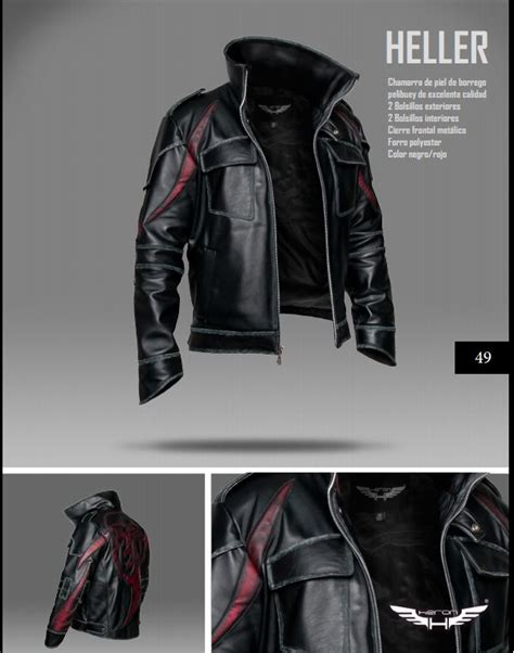 Jaket Model Bijuu Jaket Jaket Costplay Laris prototype 2 heller jacket i want cool stuff d arcy prototype 2