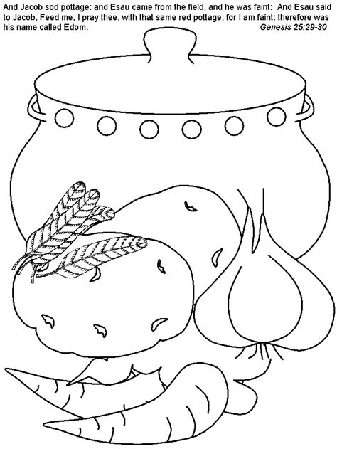 coloring pages for jacob and esau jacob and esau coloring pages az coloring pages