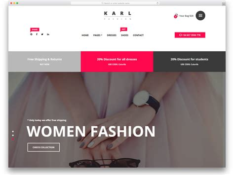 20 best wordpress shopping cart themes 2018 siteturner 20 best free fashion website templates with vogue design 2018