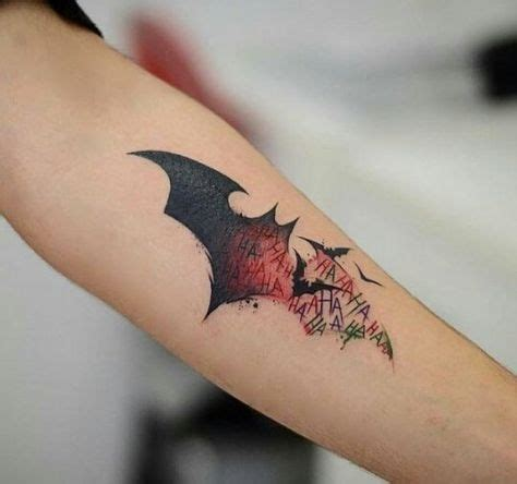 batman joker tattoo best 25 batman symbol tattoos ideas on batman