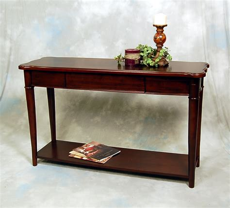 sofa table ebay hazelnut narrow sofa console table ebay