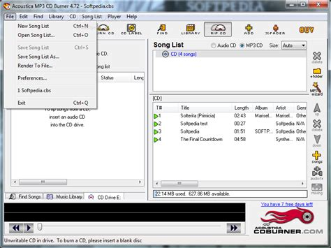 download mp3 from cd download acoustica mp3 cd burner 4 72 build 152