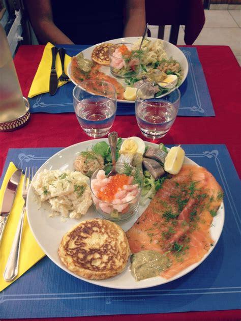 repas cuisine mon repas au restaurant norv 233 gien fjord