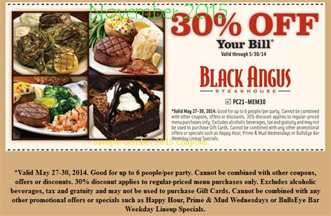 Black Angus Steakhouse Coupons Promo Codes 2016 | black angus coupon dinner 2 2015 2017 2018 best cars