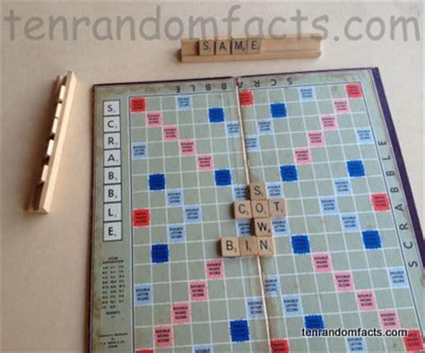 scrabble information scrabble ten random facts