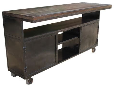 industrial kitchen islands kitchen island industrial mango iron rolling storage