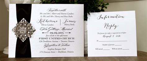 Wedding Invitation Paper Toronto by Wedding Invitations Toronto Affordable Custom Cards