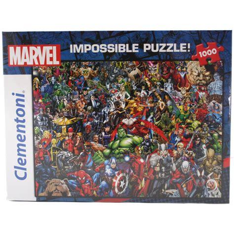 marvel jigsaw clementoni marvel comic character quot impossible quot 1000