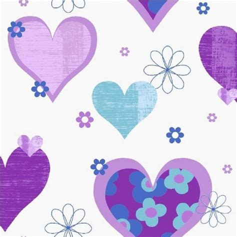 Arthouse Happy Hearts Flowers Childrens Kids Bedroom Wallpaper 533701 | arthouse happy hearts flowers childrens kids bedroom