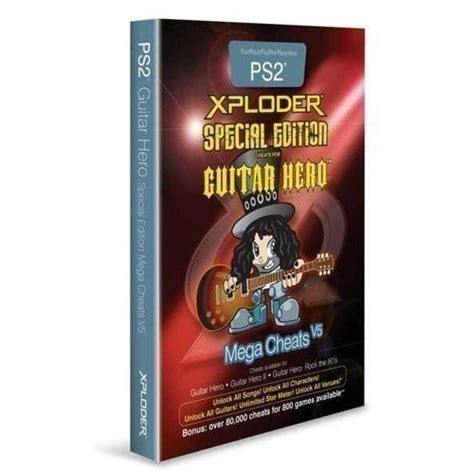 xploder lite playstation 2 ps2 pal exploder guitar special edition