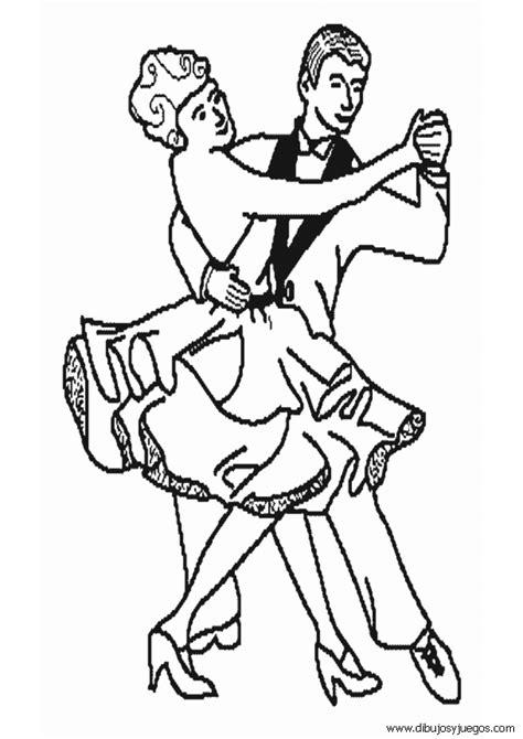 dibujos de bailes de salon pareja de baile dibujo imagui