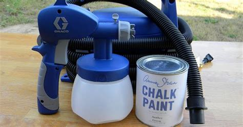 diy chalk paint in a sprayer paint sprayer i want for chalk paint i ve got to try