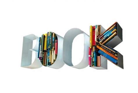book libreria arredare con le lettere design lover