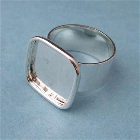 ring blanks for jewelry silver plated ring blanks