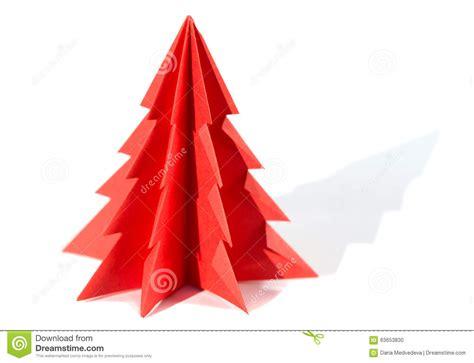 arbol de navidad papiroflexia 193 rbol de navidad de papel papiroflexia aislado en el