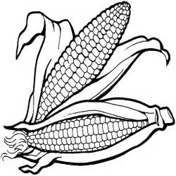 corn color page free corn field coloring pages