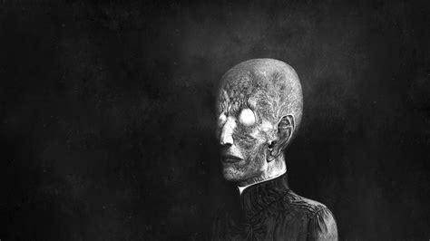 black and white drawing wallpaper creepy bw drawing dark face black white wallpaper