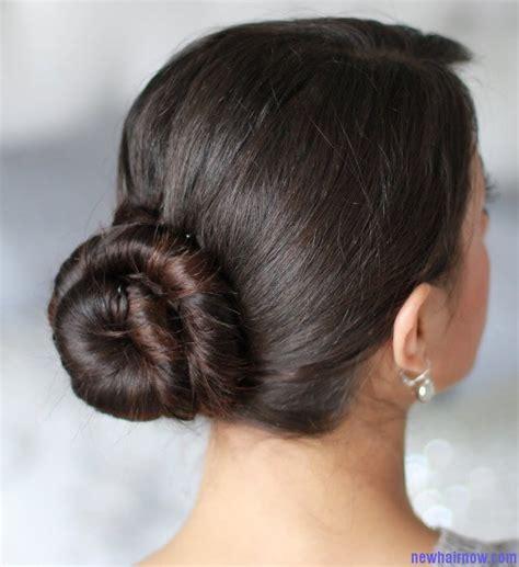 Indian Hairstyles In A Bun   indian women bun haircut new hair now