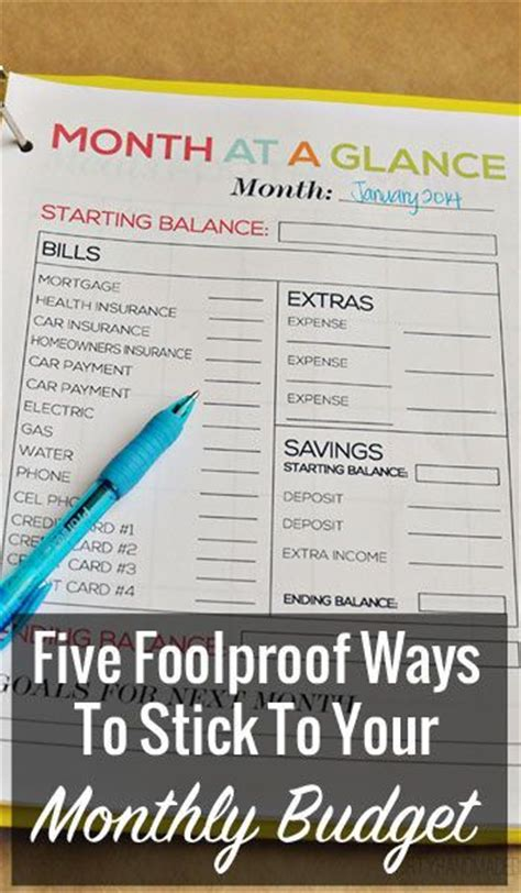 9 fool proof ways to win a photo contest five foolproof ways to stick to your monthly budget