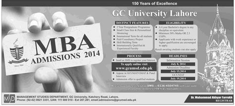 Mba Admission 2014 by Gcu Executive Mba Admission 2014 2015