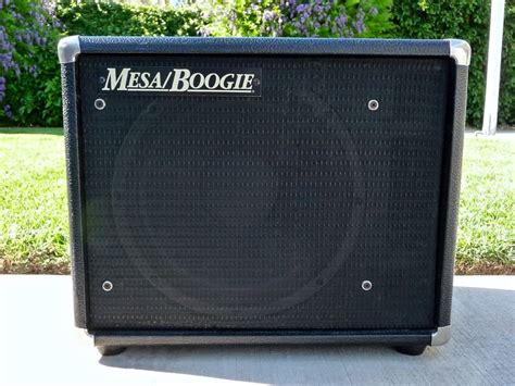 mesa boogie thiele 1x12 guitar cabinet with original 200