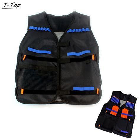 Nerf Vest black water gun tactical nerf vest jacket with holder for