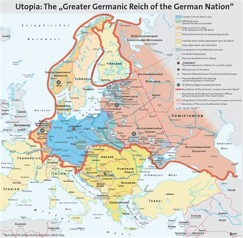german map of the world s map of the planned greater german reich maps