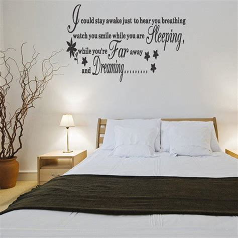 large bedroom wall stickers bedroom decals quotes wall decal blowing tree and master