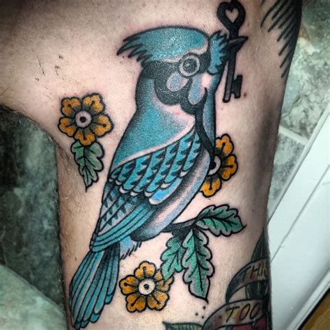 blue jay tattoo blue tribal www imgkid the image kid