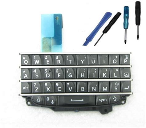 Keypad Blackberry Q20 oem black keypad button q10 keyboard with flex cable for blackberry q10 tools ebay
