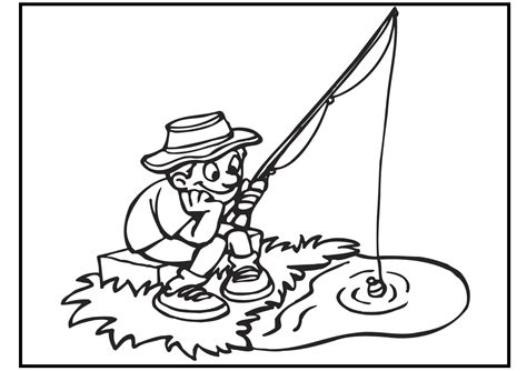 fishing coloring pages fishing coloring pages coloringsuite
