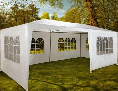pavillon 3x6 meter bierzelt rimini 3x6m wei 223 partyzelt gartenzelt festzelt