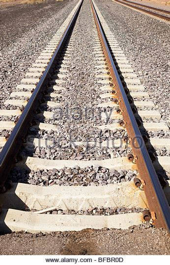 Sleepers Of Railway Track by Railway Track Detail Stock Photos Railway Track Detail