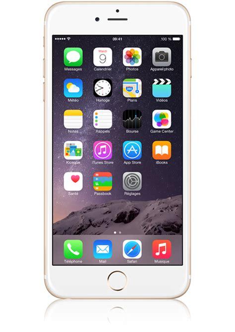 D Iphone 6 Plus by Apple Iphone 6 Plus Or 16go Avis Prix Avec Forfait Caract 233 Ristiques