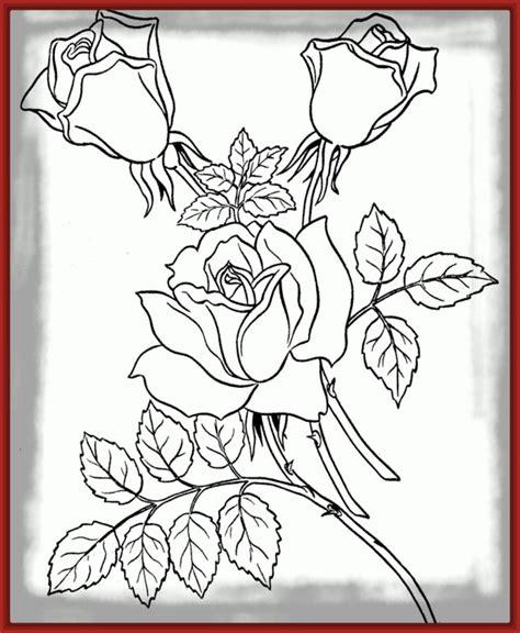 imagenes de rosas sencillas para dibujar adorables dibujos de rosas coloreadas imagenes de rosa