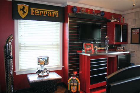 Craftsman Homes Interiors antonio s garage room eclectic kids new york by