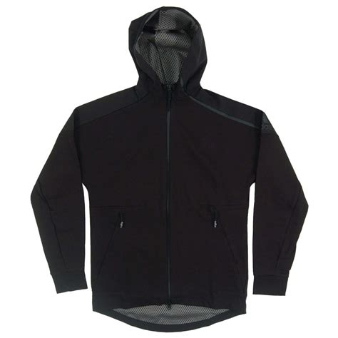 Adidas Zne Hoodie Grey Original adidas originals zne duo hoody black grey mens clothing from attic clothing uk