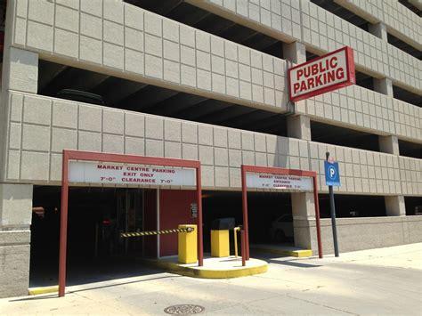 Market Parking Garage by Market Center Garage Parking In Wichita Parkme