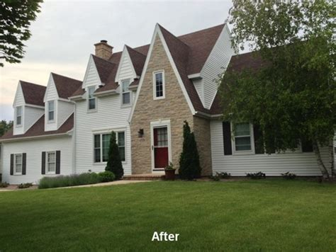updating a cape cod style house exterior update on a wisconsin cape cod