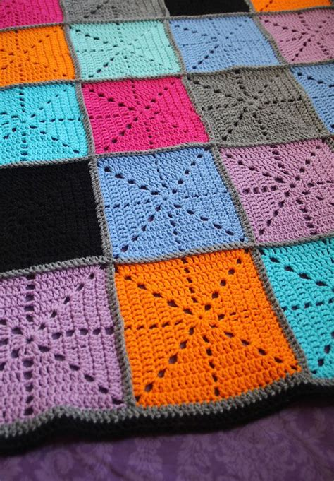 Crochet Patchwork - 25 best ideas about patchwork blanket on
