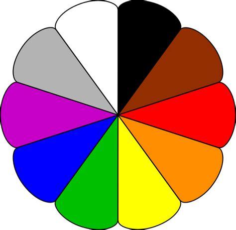 paint colors clipart flower colors clip at clker vector clip