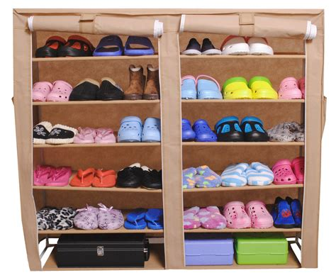 children s shoe storage small portable shoe rack storage with fold up door