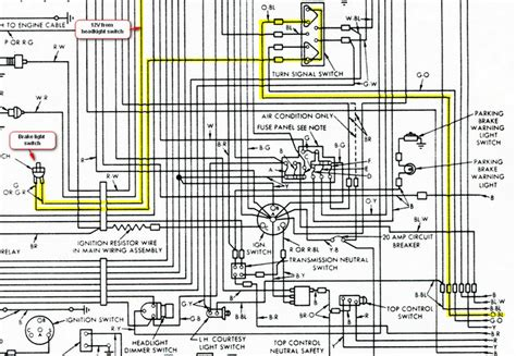 1955 chevy bel air instrument cluster wiring diagram