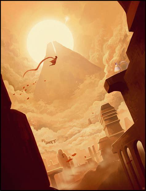game wallpaper artwork journey by karbo on deviantart
