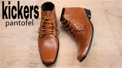 Sepatu Pantofel Kickers Tali Kulit Asli Pria Formal jual kickers pantofel formal tali kulit asli serat kayu di lapak grosir sepatu bandung yuyup bageur