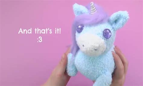 easy diy sock plush diy craft ideas socks made unicorn soft with charger diy craft ideas gardening