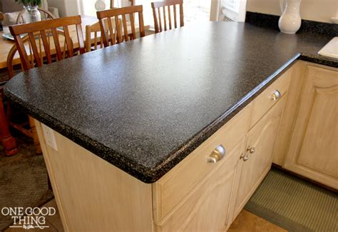 Kitchen Countertop Restoration by Kitchen Cabinet And Countertop Transformation In A Box