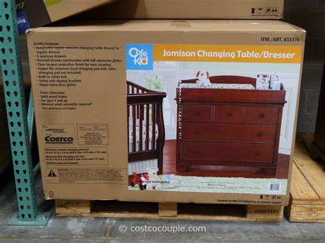 cafe kid desk costco changing topper for dresser 100 changing